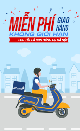 Miễn phí giao hàng tại Hà Nội