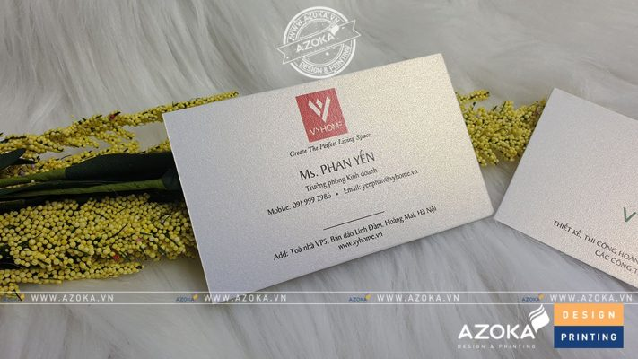 Mẫu card visit mỹ thuật Vyhome