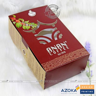 Mẫu hộp giấy Anan Coffee