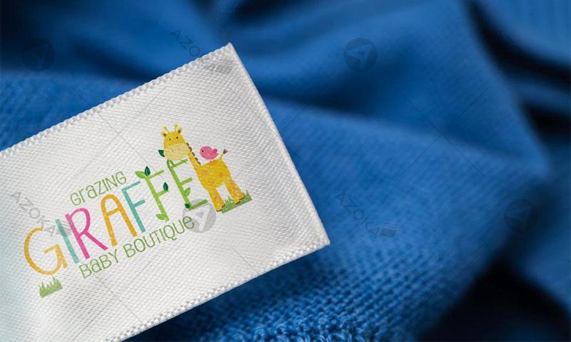 Mác vải quần áo của nhãn hàng thời trang trẻ em Giaffe do Azoka thực hiện